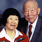 Gwen and Peter Liu