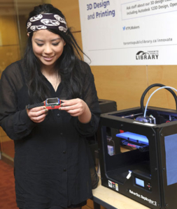 3D printers at the Digital Innovation Hubs are accessible to everyone.