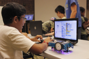 Summer camps teach kids about STEM.