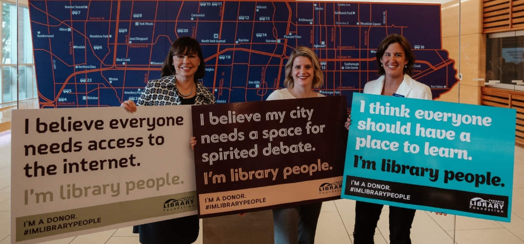 Library People Holding V Statements