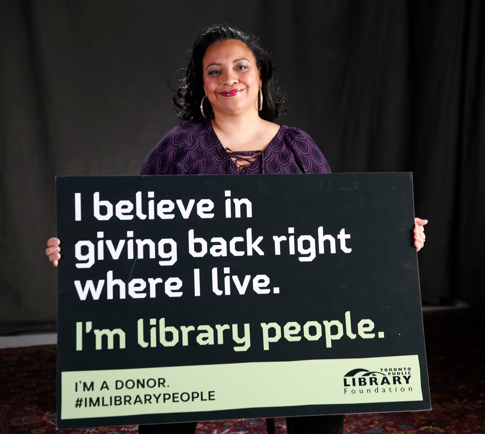 Be Library People too.
