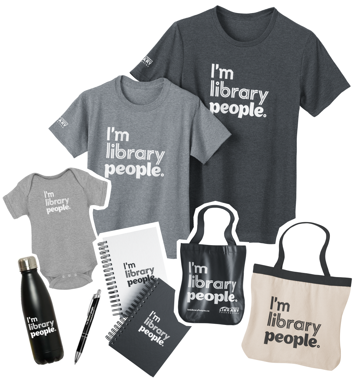 Shop I'm Library People Merchandise